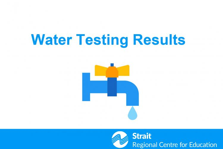 Water Testing Results